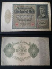 BANCONOTA GERMANIA 10000 MARK 1922