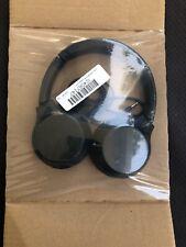 Sony WH-XB700/B Headphones (Black) Wireless Bluetooth On-Ear