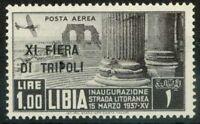 Libia 1937 Sass. A33 Nuovo ** 100%