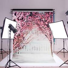 Cherry Blossom Balcony Photography Backdrop Background Studio Photo Props 3x2ft