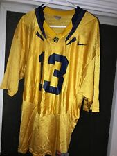 Cal Golden Bears UC Berkeley Nike NCCA Football Replica Football Jersey #13 Gold