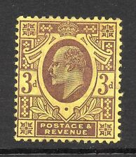 Mint Hinged Mute Cancellation British Stamps