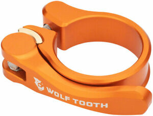 Wolf Tooth Components Quick Release Seatpost Clamp - 28.6mm Orange