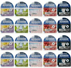Yankee Candle Wax Tart Melts x 6 New Scented Room Fragrances 100% Genuine
