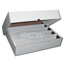 BCW SUPER MONSTER STORAGE BOX 5000 COUNT QUANTITY OF 1 - FULL LID