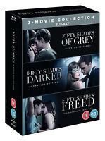 FIFTY SHADES OF GREY Trilogy [Blu-ray Box Set] Complete 3-Movie Collection 1 2 3