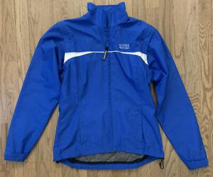 Gore Bike Wear Windstopper Soft Shell Cycling Jacket Blue Women's Small