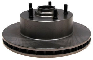 Disc Brake Rotor and Hub Assembly-Non-Coated Front ACDelco 18A807A
