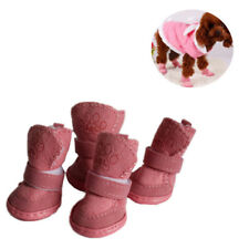 Puppy Cotton Blend Winter Snow Warm Walking Boots Cute Fancy Dress up Pet Dog