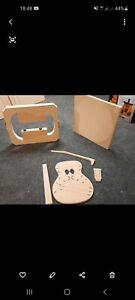 OM Luthier Kit Mold Templates Radius Dish
