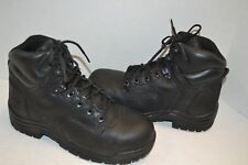 "TIMBERLAND PRO WORK Boots Titan 6"" SafetyToe Women's 8 M Black Leather 72399"