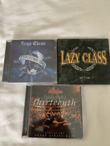 THE STRANGLERS & LAZY CLASS x2 Punk Cd's Job Lot. All New