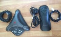 Polycom VoiceStation 300 VS300 Conference Phone Telephone. Complete System.