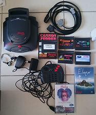 Atari Jaguar + Jaguar CD + Tempest Elansar Philia + BJL from Orion developer