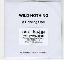 (EC863) Wild Nothing, A Dancing Shell - 2013 DJ CD