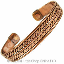 New Magnetic Copper Bracelet - Magnet Therapy 2 Magnets Handcrafted