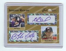 RYAN CHURCH - BRANDON McCARTHY 2005 Certified Dual *GOLD* Autograph x/10