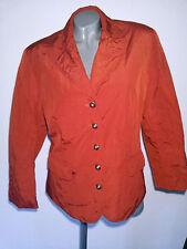 Bonita Blazer Jacke Übergangsjacke rotorange/rost Gr. 42    .    .     .   D
