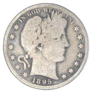 Better 1895-S - US Barber 90% Silver Half Dollar Coin Collection Set Break *994