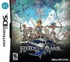 HEROES OF MANA NINTENDO DS DSi XL 3DS *NEW SEALED* AUS EXPRESS