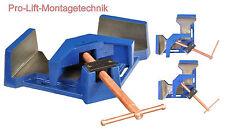 Winkelschraubstock 100mm Winkelspanner Schraubstock verstellbar Zwinge 01593