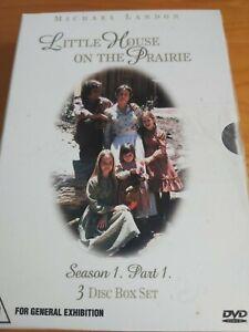 Little House On The Prairie : Season 1 : Part 1 ( 3 DVD Set ) Region 4, FreePost