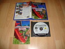 ROLLERCOASTER ROLLER COASTER WORLD PARA LA SONY PS2 USADO COMPLETO