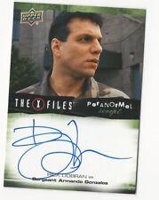 Rick Dobran The X Files Ufos & Aliens Paranormal Script Autograph Card Auto