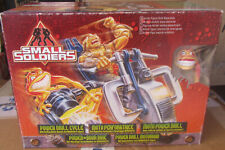 Small Soldiers Power Drill Cycle Moto Perforatrice TOY Kenner MISB Fondo BYKE