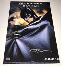 VAL KILMER Signed BATMAN 11x17 Photo IN PERSON Autograph CA CERT