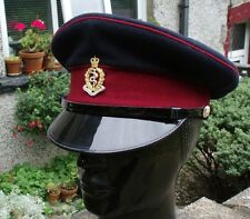 55 S RAMC PEAKED Dress Service CAP/HAT Royal Army Medical Corps British Vintage