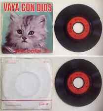The Cats Disque 45T vinyl 2 titres Vaya con dios vintage