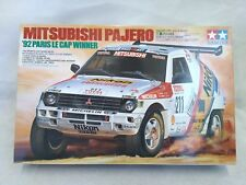 Tamiya 1/24 MITSUBISHI Pajero 1992 Paris Le Cup Winner Model Kit 24121