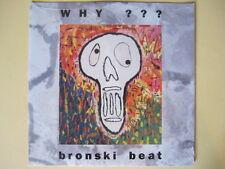 "Bronski Beat  Why - ORIGINAL SEALED 12"""