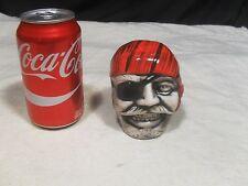 Decorative ~ Pirate Head/Face Bank w/ Patch and Bandana (#1)