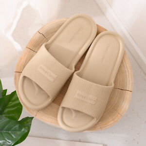 2pair Indoor Shower Bathroom Slippers Womens Men Non-slip Home Sandals Shoes New