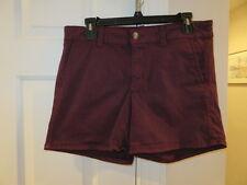EUC!!  American Eagle Burgundy Spandex Super Stretch Shorts - 10