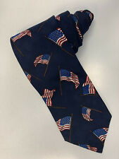 Men's American flag Neck Tie USA 4th Fourth Of July