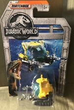 Deep-Dive Submarine • Jurassic World Fallen Kingdom | Matchbox 2018