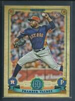 Framber Valdez RC 2019 Topps Gypsy Queen Rookie Card # 217 Houston Astros MLB