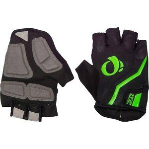 Pearl Izumi Men's Select Half Finger Gloves Black / Screaming Green L New w Tag