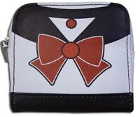 Sailor Moon Sailor Pluto Coin Purse Zip Wallet Anime Manga Cosplay Licensed New