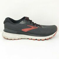 Brooks Mens Adrenaline GTS 20 1103071D029 Black Running Shoes Lace Up Size 9 D
