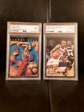 1995 HOOPS NUMBER CRUNCHERS GRANT HILL PSA 9 AND MORE