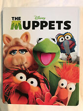 Disney The Muppets  Steelbook Blu-ray DVD Tin Case Collectible