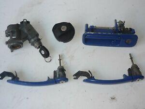 Genuine VW Lupo Seat Arosa Door Ignition & Fuel Cap Lock Set & Handles & Key