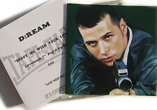 """D:REAM CD Shoot Me Your Love 1 Track UK CD ACETATE 7"""" Pop D' Up Mix + PHOTO Ins"""