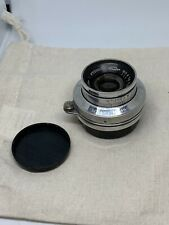 Polished mint INDUSTAR-50 lens 50mm f/3.5 for FED L39 M39 Silver