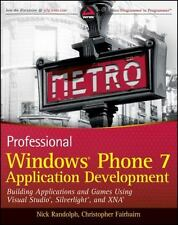 Professional Windows Phone 7 Application Development : Building Applications...