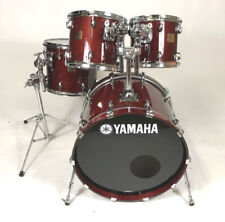 Yamaha Birch Custom Absolute Drum Kit in Cherry Wood (pre-owned)